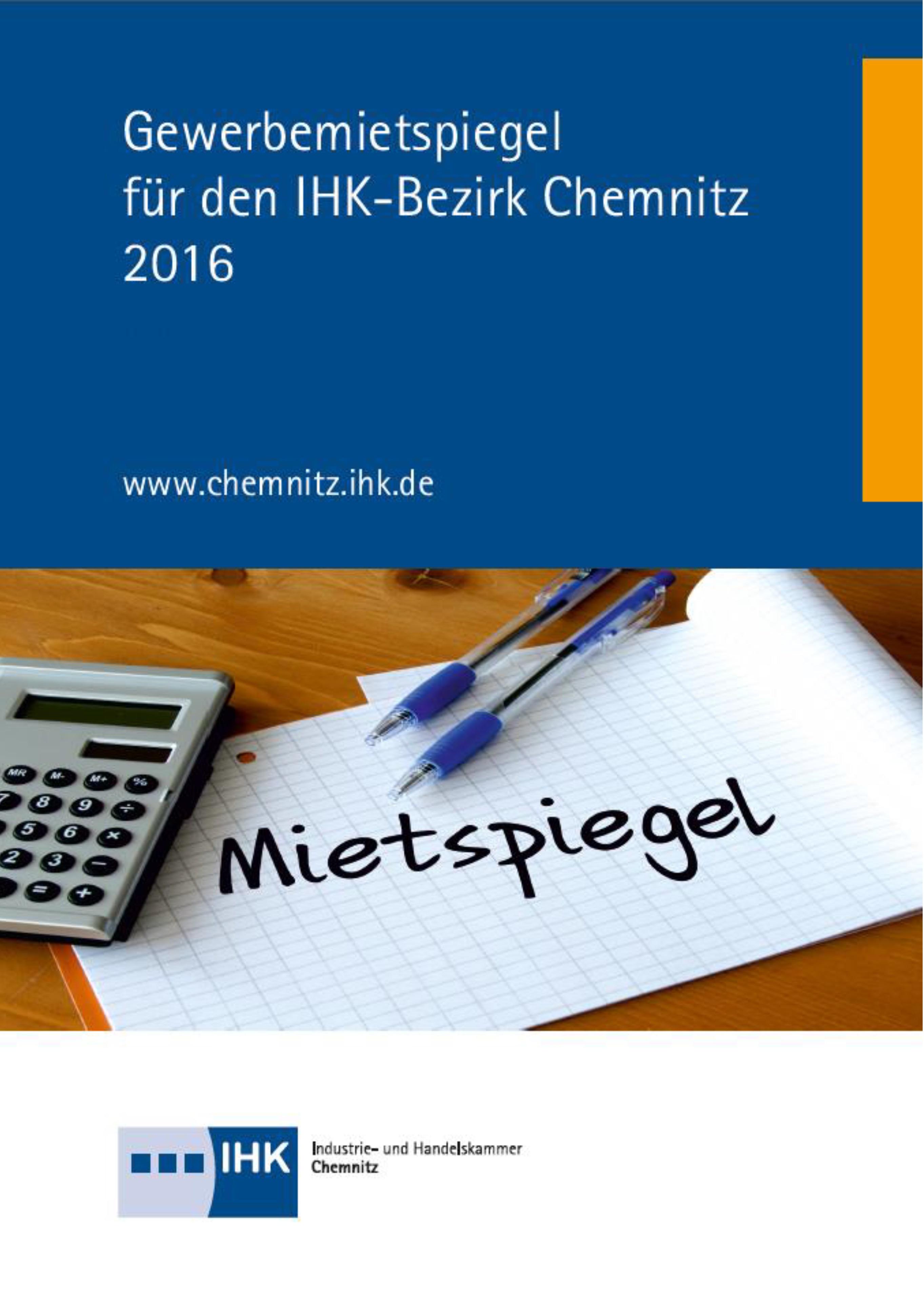 Gewerbemietspiegel Chemnitz